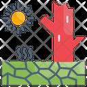 Desertification Icon