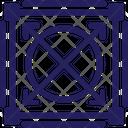 Design Field Grid Icon