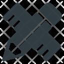 Design Pencil Ruler Icon