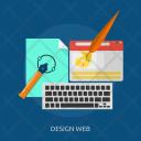 Design Artwork Concept Icon