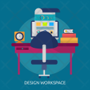 Design Workspace Freelance Icon
