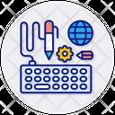Design Drawing Keyboard Icon
