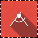 Design Protractor Measurement Icon