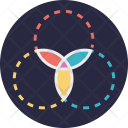 Art Design Kaleidoscope Icon