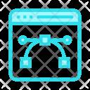 Design Bezier Online Icon