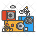 Design Bike Gopro Icon