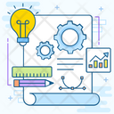 Engineering Process Architect Creative Process Icon