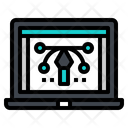 Path Line Frame Icon