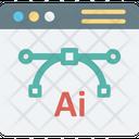Adobe Ai Ai Anchor Point Icon