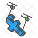 Design Facebook Helicopter Load Network Icon