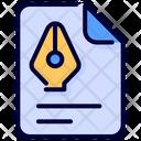 Brief Client Client Brief Icon