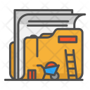 Design Folder Construction Icon