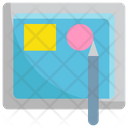 Design In Tablet Icon