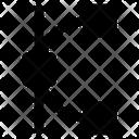 Design Line Line Point Icon
