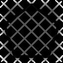 Design Pentagon Polygon Icon