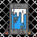 Design Phone Clining Icon
