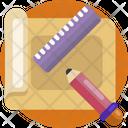 Creative Design Paper Pencil Icon