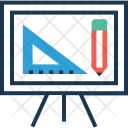 Design Platform Easel Icon