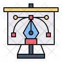 Presentation Design Business Icon