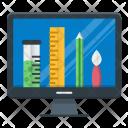 Design Process Portfolio Icon