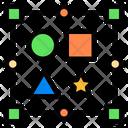 Design Shape Layout Shape Icon