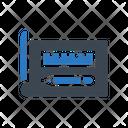 Protractor Design Sheet Icon