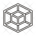 Design Square Qube Icon