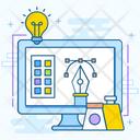 Design Studio Creative Studio Vector Design Icon