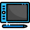 Design Tablet Tab Designing Device Icon