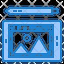 Design Tablet Icon