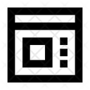 Design Template Web Web Layout Icon