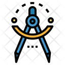 Compass Draw Drawing Icon