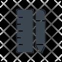 Ruler Design Creative Icon
