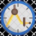 Design Tool Compass Divider Icon