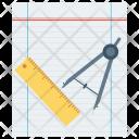 Design Tool Compasses Icon