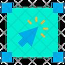 Pointer Arrow Designing Tools Icon