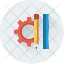 Design Tools Cog Icon