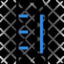 Ruler Pencil Design Icon