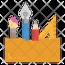 Pen Ruler Pencil Icon