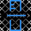 Ruler Pen Design Icon