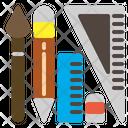 Design Tools Pencil Brush Icon
