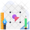 Design Tools Design Equipment Design Stationery Icon