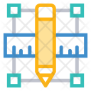 Design Tools Ruler Icon