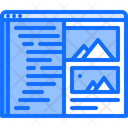 Design Website Code Development Icon