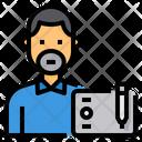 Graphic Designer Occupation Avatar Icon