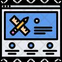 Designer website Icon