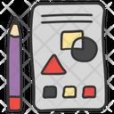 Designing Designing Shapes Modelling Icon