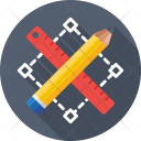 Designing Pencil Ruler Icon