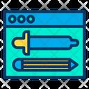Webpage Design Website Design Designing Tool Icon