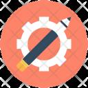 Designing Cog Cogwheel Icon